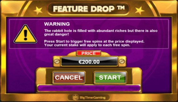 feature drop in megaways slots