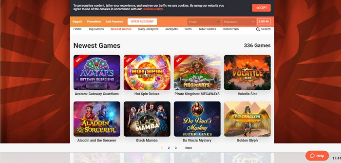 new slot games lobby