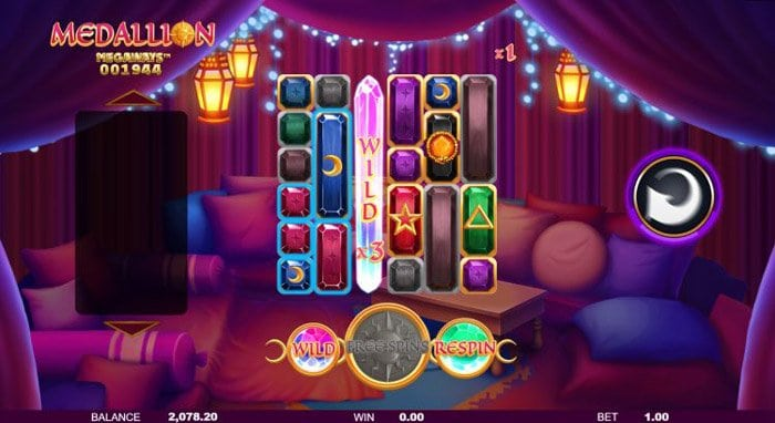 How to play at Medallion Megaways slot machine?