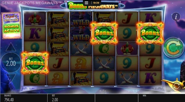 The Genie's Magic Tricks: Free Spins