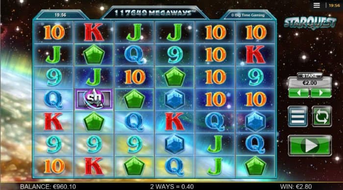 How do you Play Starquest Megaways Slot