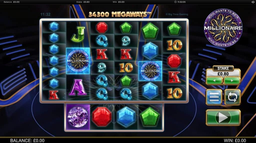 How to play who wants te be a millioniare megaways slot