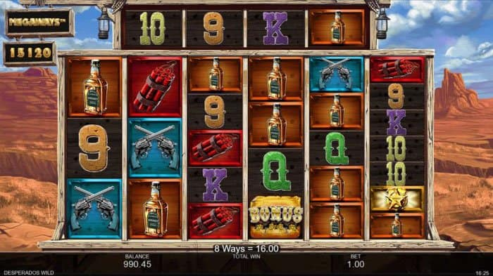 How to Play Desperados Wild Megaways Slot?