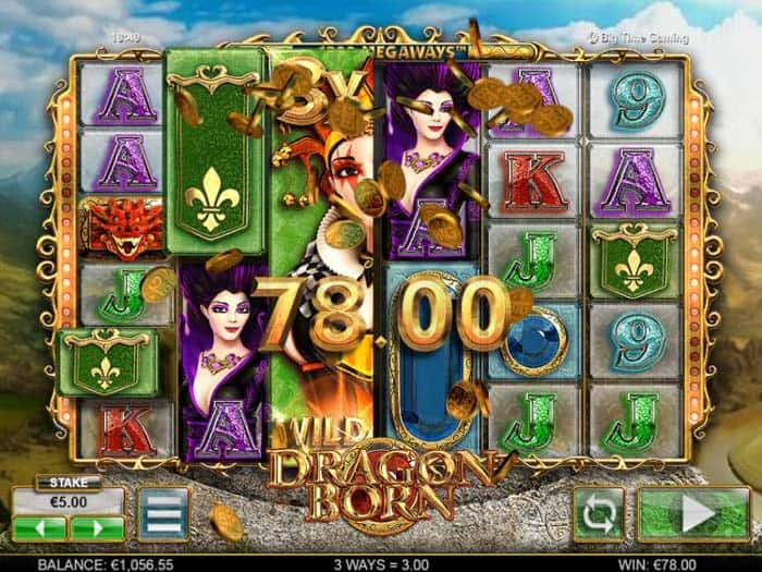 How to play at Dragon Born Megaways Slot?