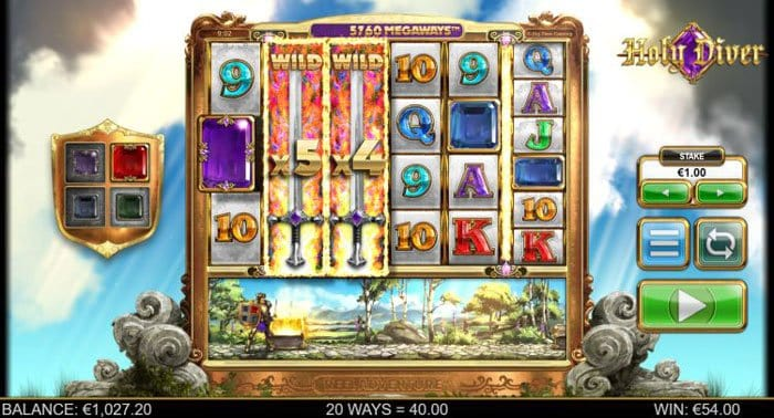 How to play at Holy Diver Megaways Slot?
