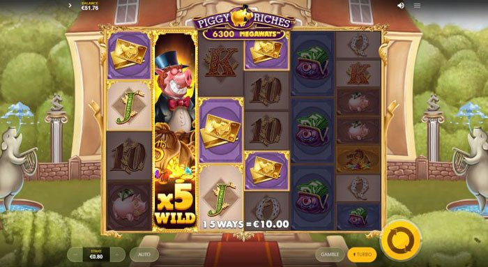 How to play at Piggy Riches Megaways?