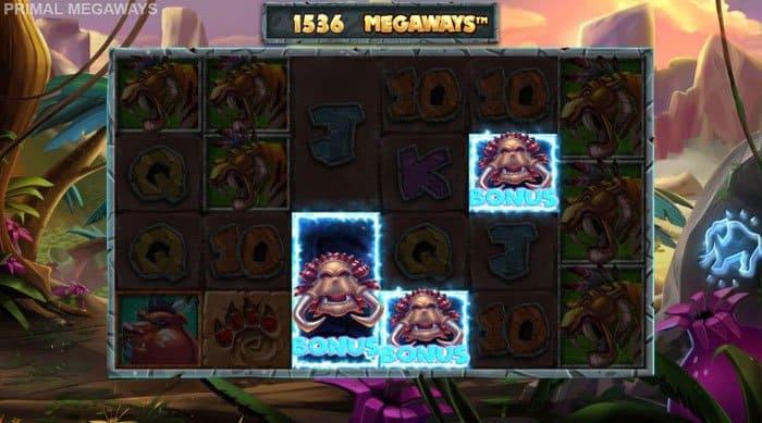 Primal Megaways Free spins bonus