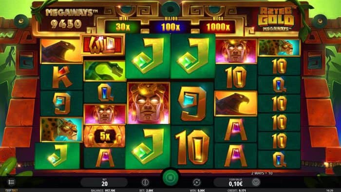 How to play ay Aztec Gold Megaways Slot