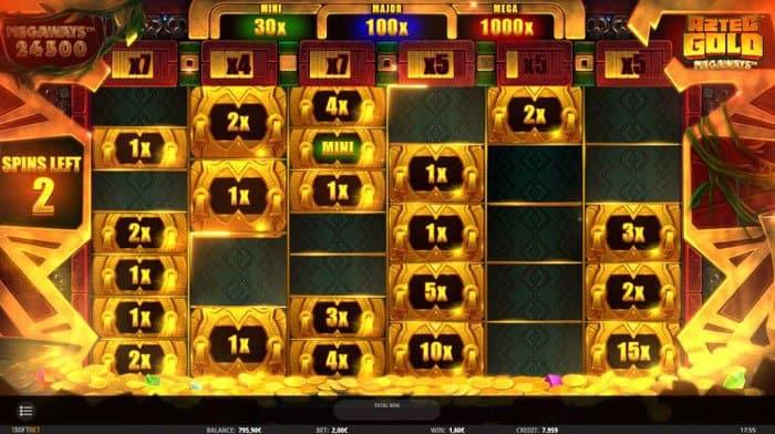 Aztec Gold Cash Respins