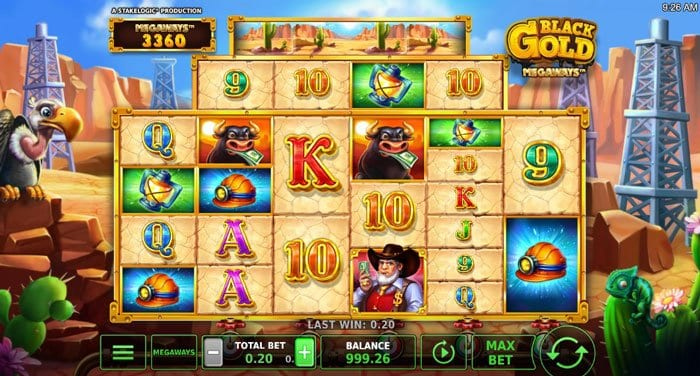 How to play at Black Gold Megaways Slot?