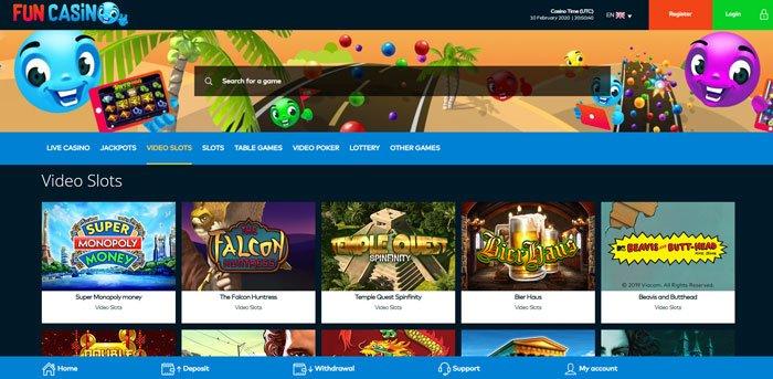 Website Fun Casino