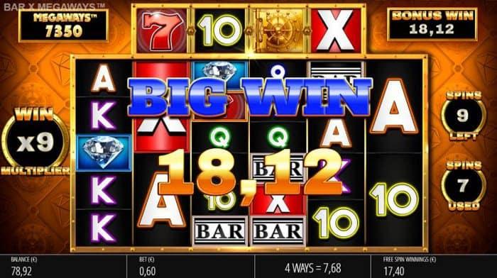 How to play at Bar X Safecracker Megaways Slot?