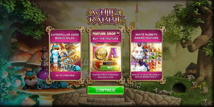 White Rabbit buy a bonus feature
