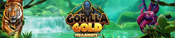 Gorilla Gold Megaways Slot