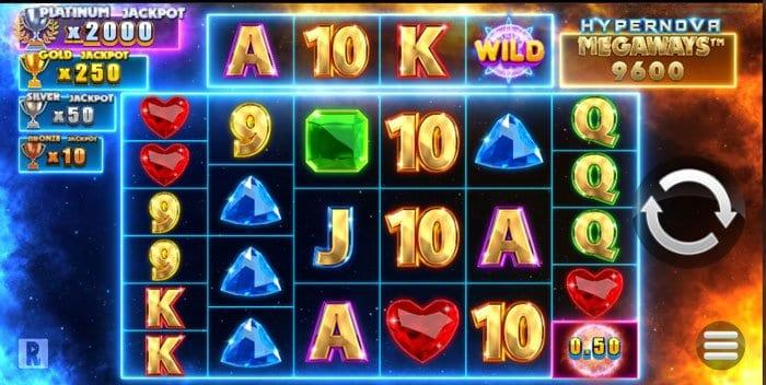 How to play Hypernova Megaways Slot?