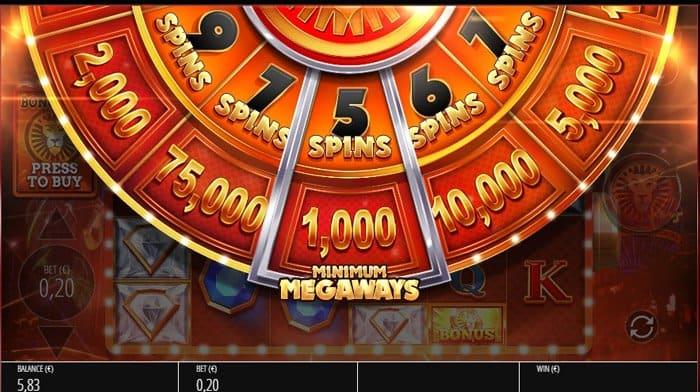 LeoVegas Megaways Bonus