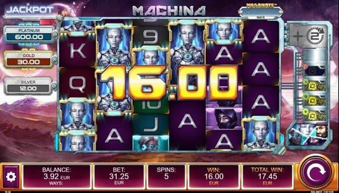 How to play at Machina Megaways slot?