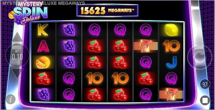How to play at Mystery Spin Deluxe Megaways slot?
