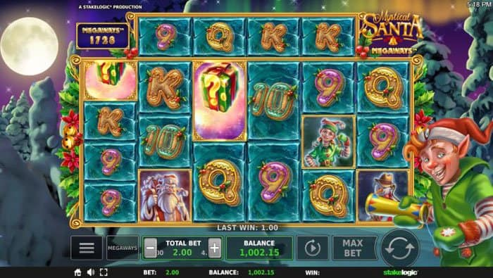 How to play at Mystical Santa Megaways Slot?