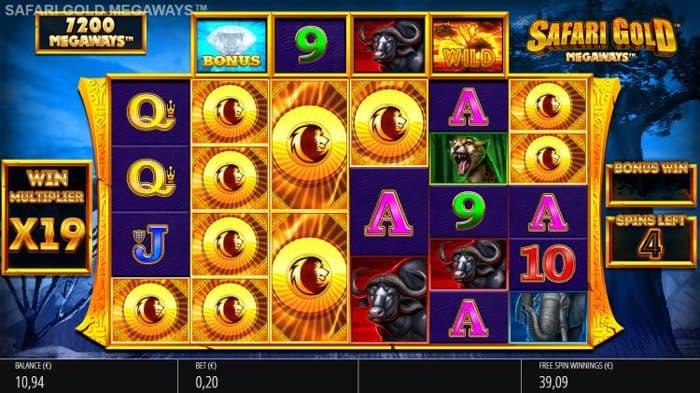 How to play at Safari Gold Megaways Slot?