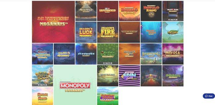 slotnite megaways slots lobby