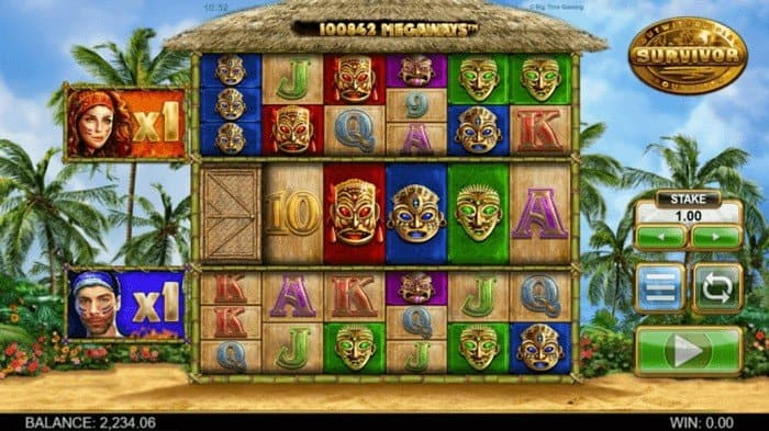 How to play at Survivor Megaways slot?