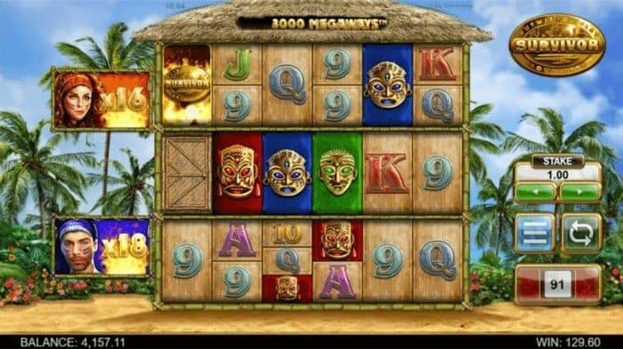 survivor slot game by big time gaming