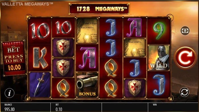 How to play at Valletta Megaways slot machine?