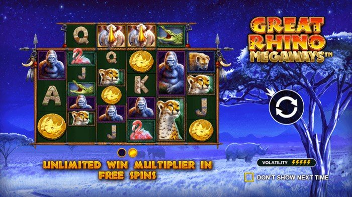 How to play at Great Rhino Megaways Slot?