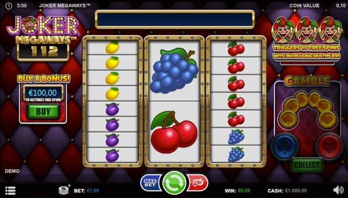 How to play Joker Megaways slot machine