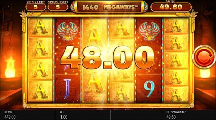 How to play at Legacy of Ra Megaways Slot?