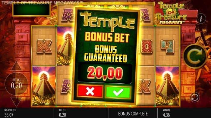 Temple Treasure Megaways Buy a Bonus