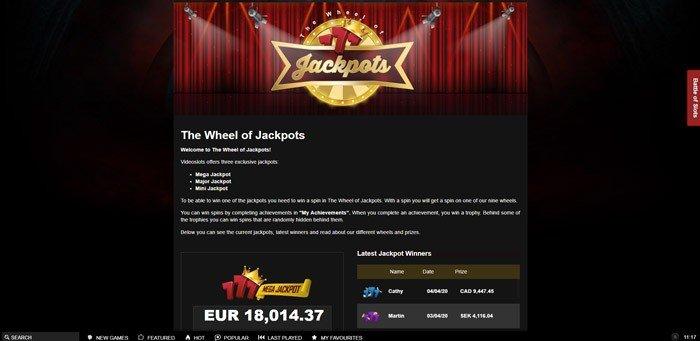 The Wheel of Jackpot