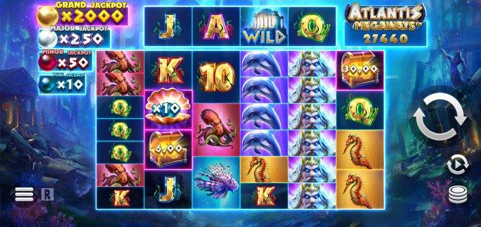 Play Atlantis Megaways Slot for free in demo mode