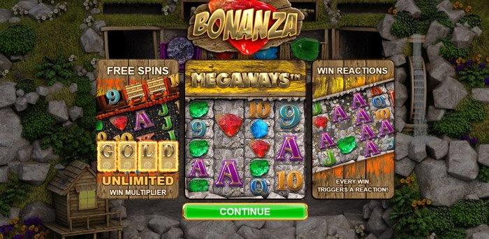 Play Bonanza Megaways Slot for free in demo mode