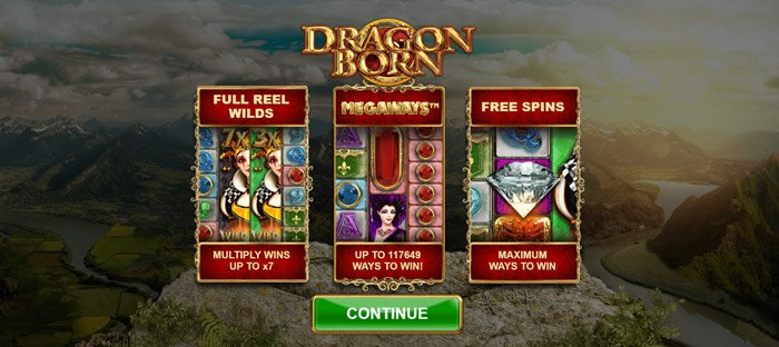 Play Dragon Born Megaways for free in demo mode