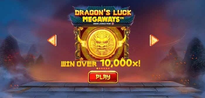 Play Dragon's Luck Megaways for free in demo mode