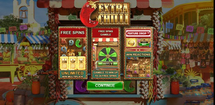 Play Extra Chilli Megaways for free in demo mode