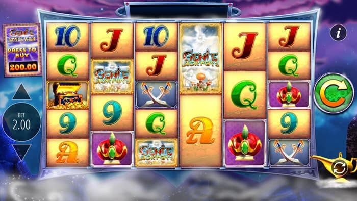 Play Genie Jackpots Megaways for free in demo mode