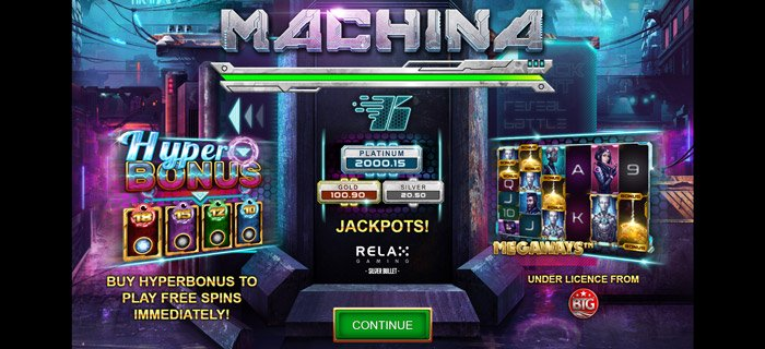Play Machina Megaways™ Slot for free in demo mode