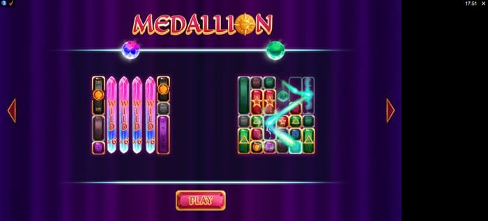 Play Medallion Megaways for free in demo mode