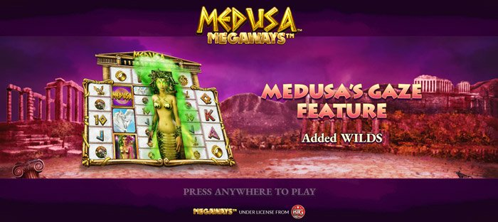 Play Medusa Megaways™ Slot for free in demo mode