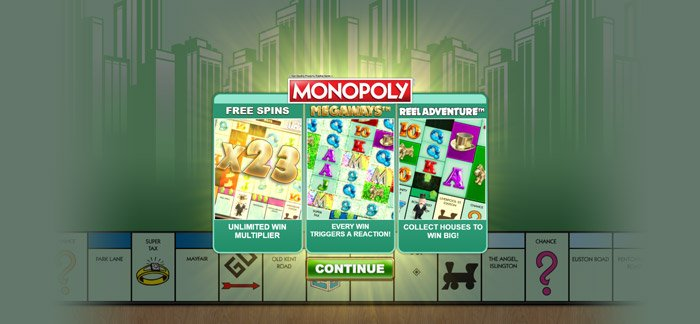 Play Monopoly Megaways for free in demo mode