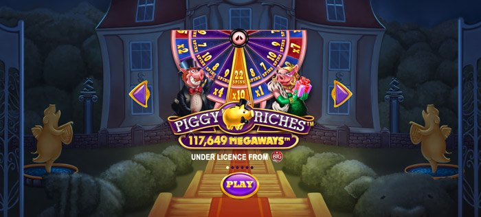 Play Piggy Riches Megaways for free in demo mode