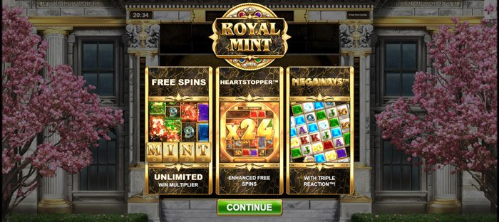 Play Royal Mint Megaways for free in demo mode