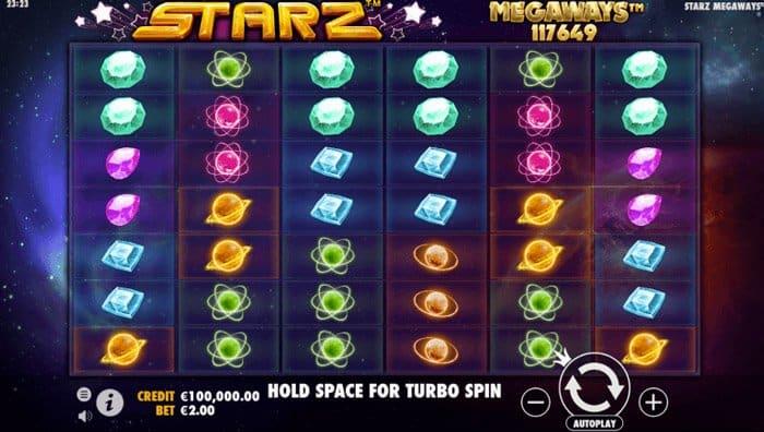 Starz Megaways Online Slotmachine