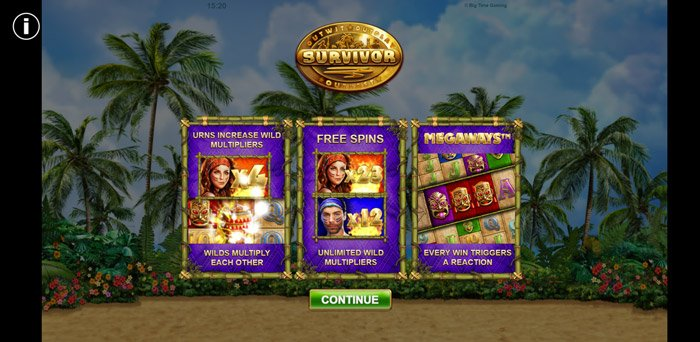Play Survivor Megaways Slot for free in demo mode