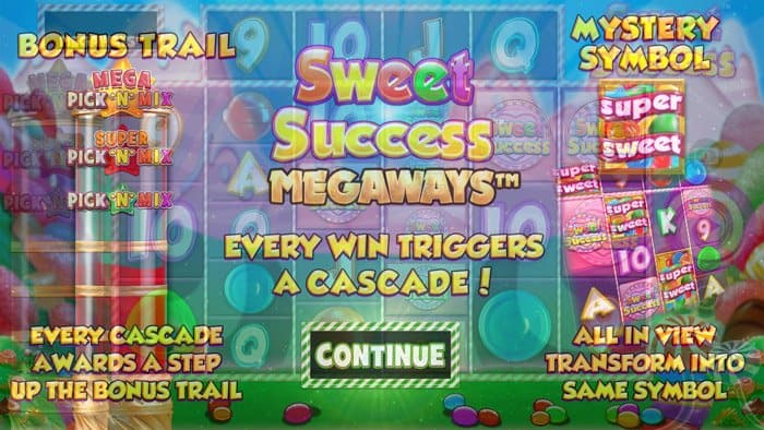 Play Sweet Success Megaways for free in demo mode