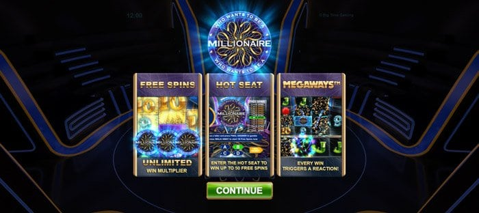 Play Who Wants to be a Millionaire Megaways for free in demo mode