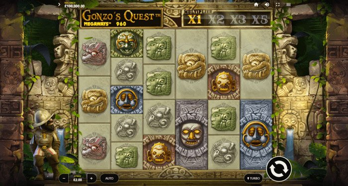 Gonzo's Quest Megways slot
